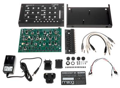 Moog Werkstatt-01 and Expander