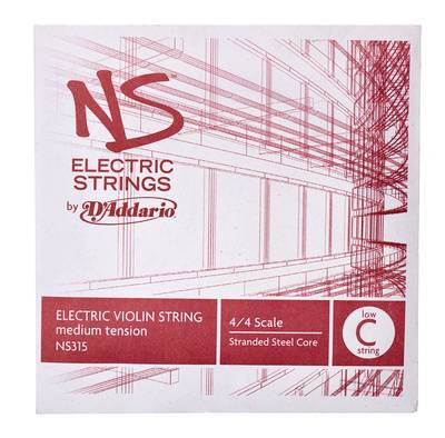 Daddario NS315 Violin String Low C