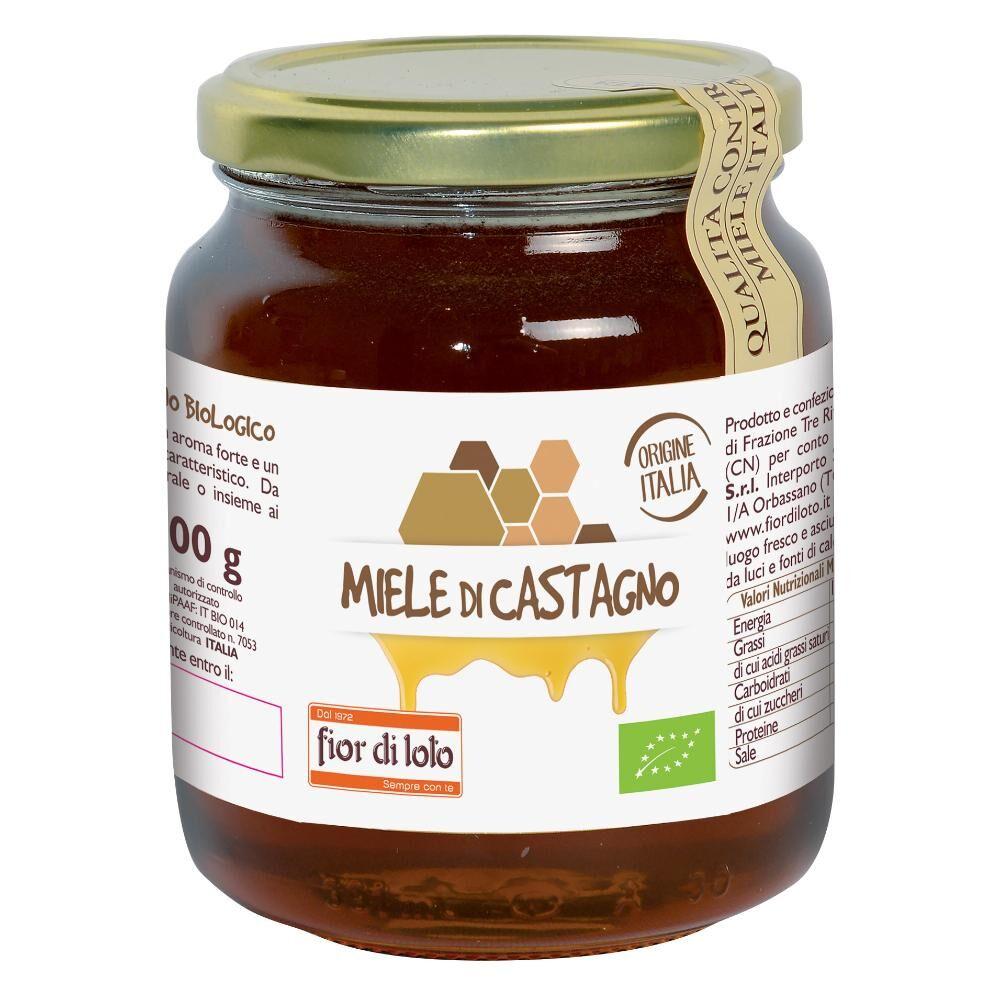 biotobio srl il fior di loto miele di castagno bio 500 g