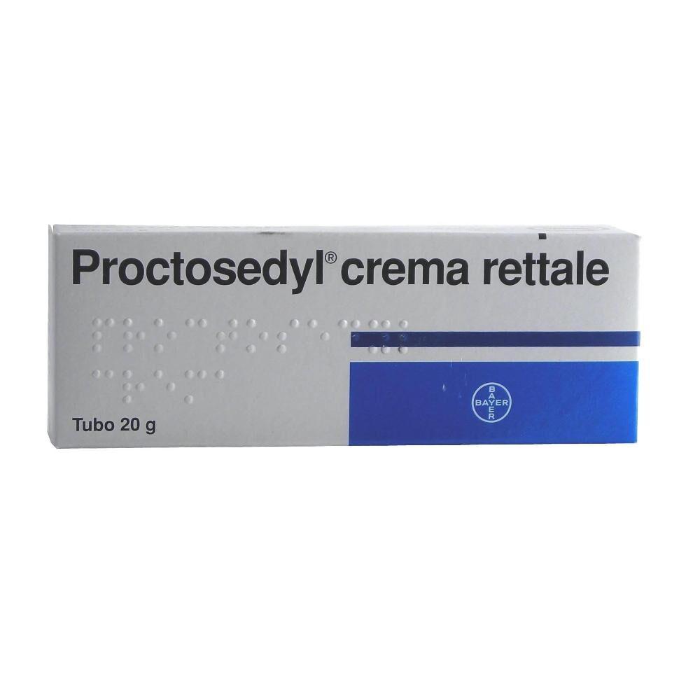 BAYER SpA Proctosedyl Crema Rettale Tubo 20 G