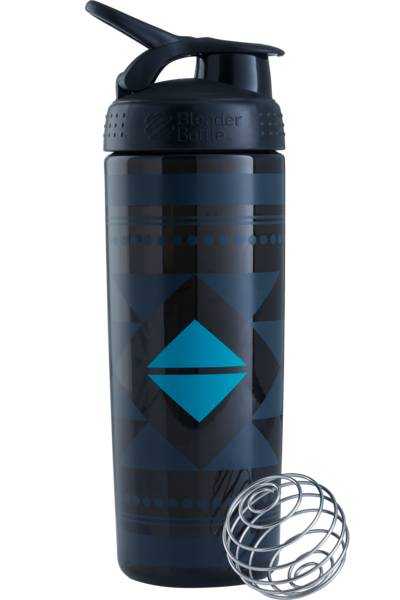 BlenderBottle Sleek Signature 820 ml - Black Diamond Native