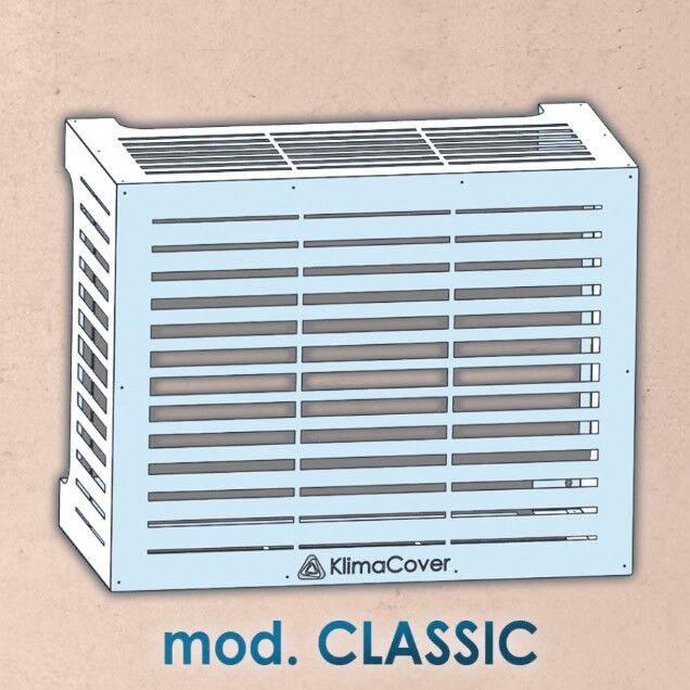 Klima Cover Copertura Per Unitá Esterna Climatizzatore Mod. Classic M Colore Bianco