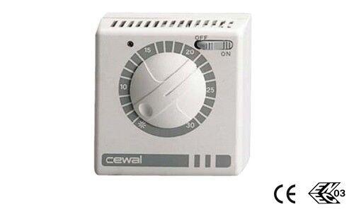 Termostato Cewal Rq30 Spia Ed Int. On/off Art. 91934930