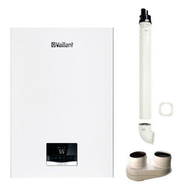 Vaillant Caldaia Ecotec Intro Vmw 18/24 As/1-1 A Condensazione Metano  + Kit Fumi Omaggio