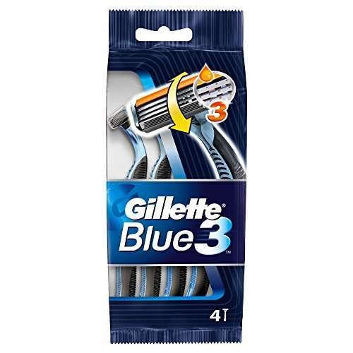 Gillette - Rasoi Blu'3 Usa&getta - 4 Pz