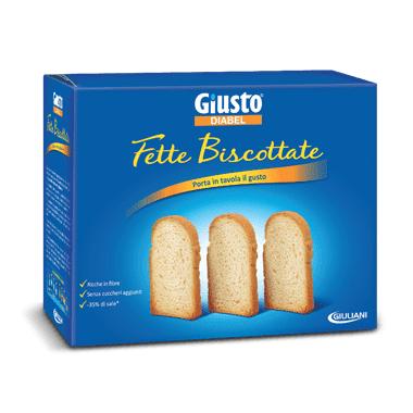 Giusto Diabel Fette Biscottate 300g