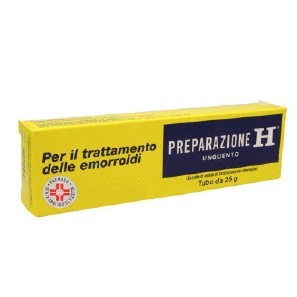 Preparazione H 10,8% Unguento Tubo 25 G