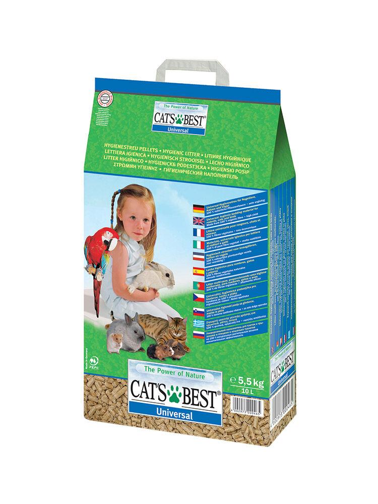 lettiera per gatti jrs cat's best - universal 10 l