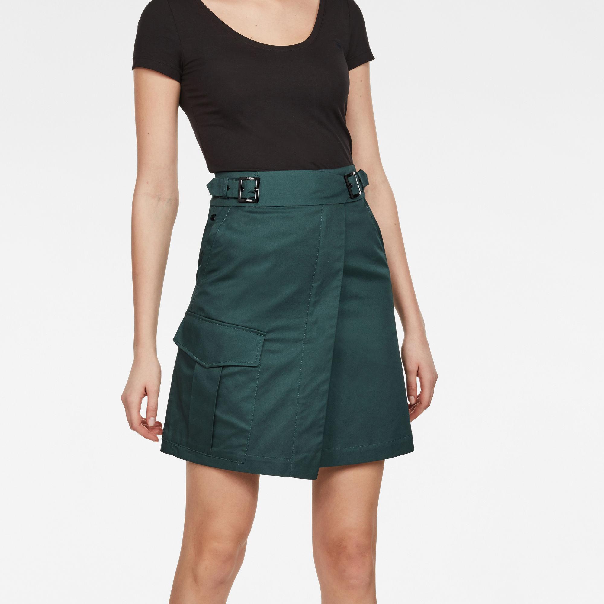 G-Star RAW Bristum Army Wrap Skirt