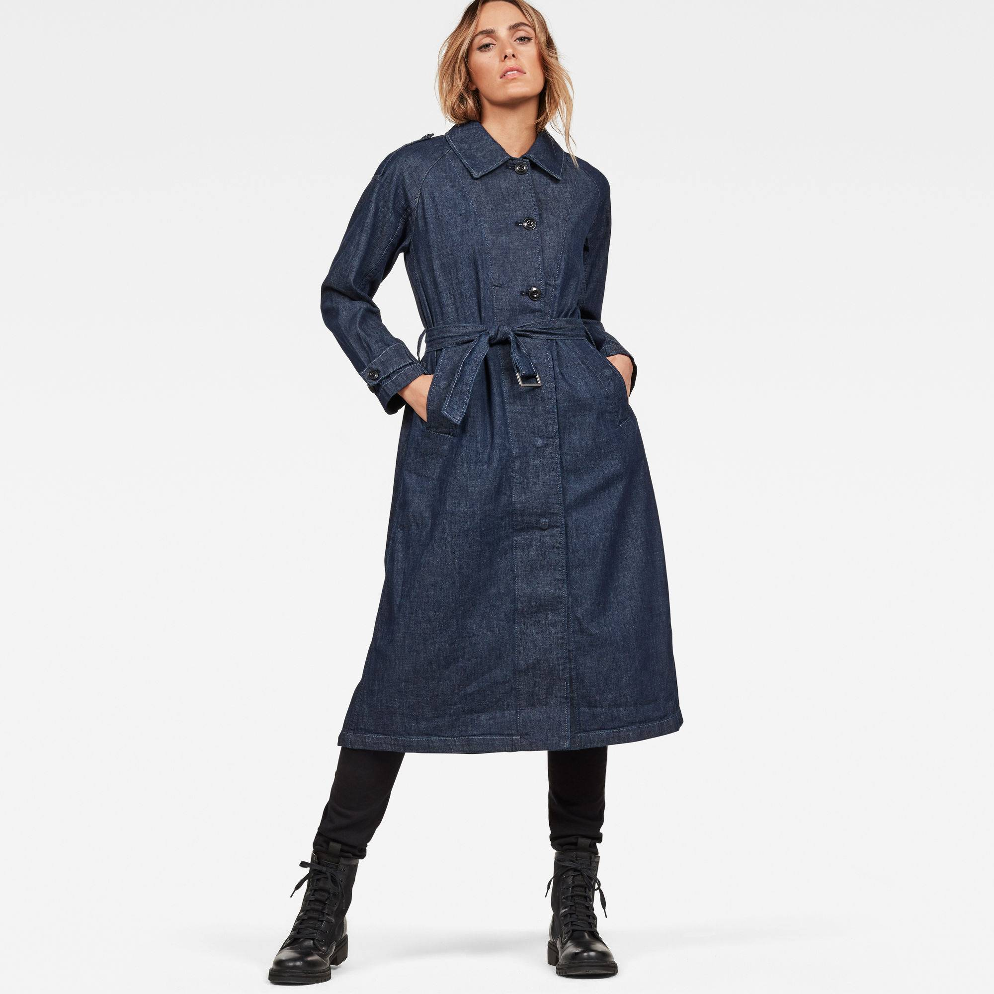 G-Star RAW Minor A-line Loose Trench