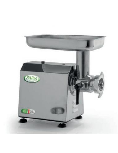 FAMA INDUSTRIE Tritacarne Professionale - Gruppo Macinazione Ghisa - Potenza 750 W - Modello Ti12