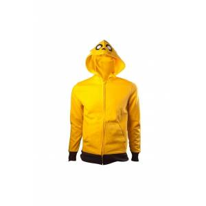 BIOWORLD Adventure Time Jake Hoodle Felpa Felpaer Logo Size L