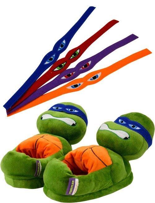 United Teenage Mutant Ninja Turtles Tartarughe Slippers Characters Size 35 37
