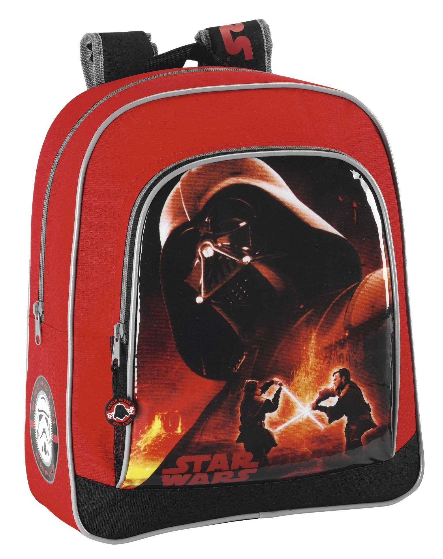 safta zaino zainetto scuola palestra piscina darth vader star wars backpack 38 cm