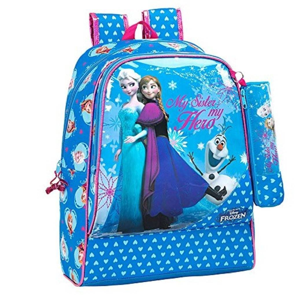 SAFTA Zaino Zainetto Scuola Piscina Palestra Frozen Backpack 33 Cm  33x42x14 Cm