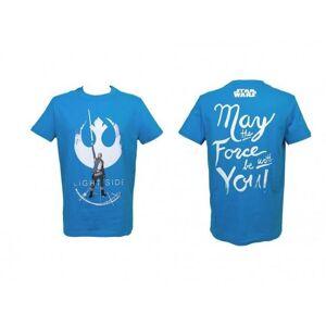 SD TOYS T-Shirt Sw Ep Viii Rey Light Side Blue Boy Taglia Xl T-Shirt