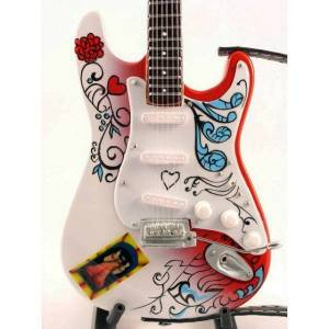 VARI Mini Guitar Jimi Hendrix Monterey Pop Replica