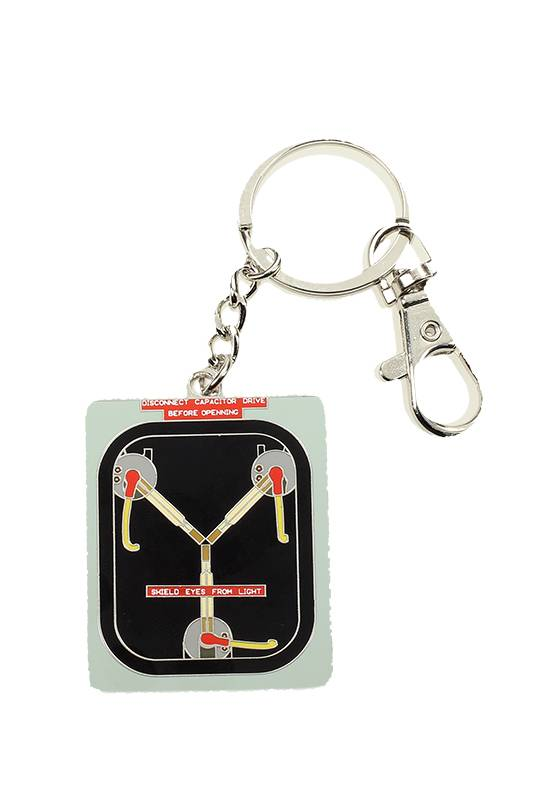 SD TOYS Back To The Future Flux Capacitor Metal Keychain Portachiavi