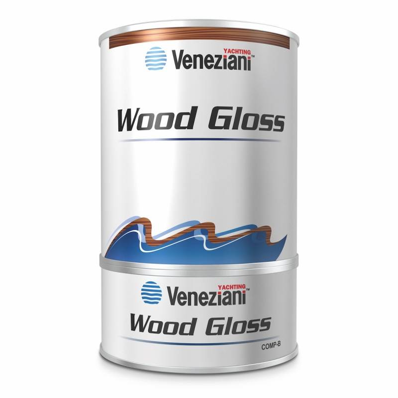Veneziani Wood Gloss - Vernice di finitura brillante