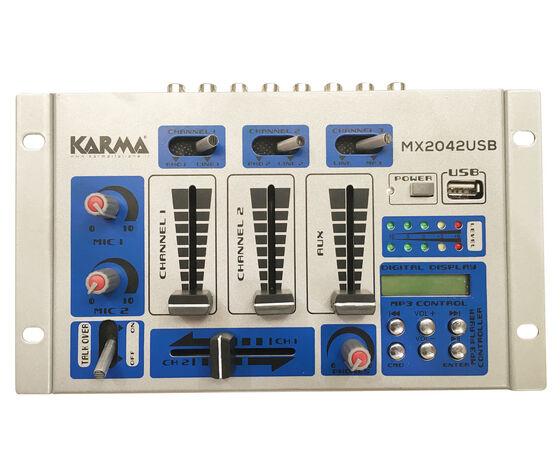 KARMA Mixer Di Terza Generazione A 4 Canali Con Lettore Usb