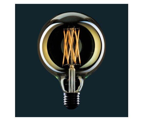 AMARCORDS Lampadina Vintage Led Globo Filamento Gabbia - Light Bulb Globe Cage Dimmerabile G125