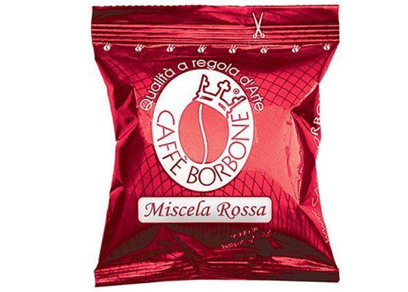 Borbone 50 Caffè Borbone Rossa Capsule Compatibili Lavazza Espresso Point