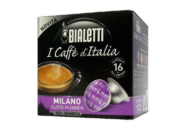 Bialetti 16 Caffè in Capsule Milano Bialetti
