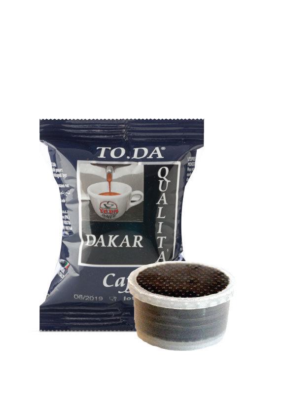 ToDa 100 Capsule ToDa Espresso Point Gattopardo Dakar Compatibili