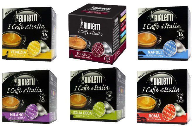 Bialetti 288 Caffè in Capsule Bialetti Miste