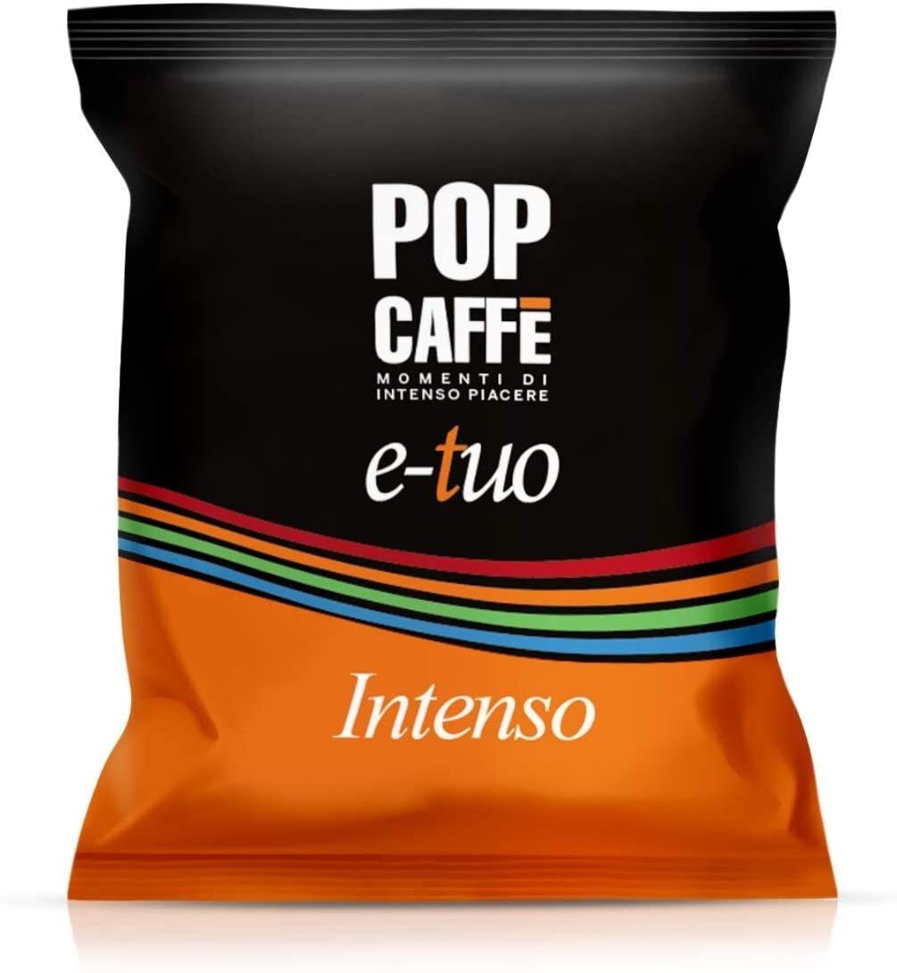 Pop 100 Capsule LUI, Fior Fiore Coop e AROMA VERO Compatibili POP Caffè Intenso .1 E-TUO