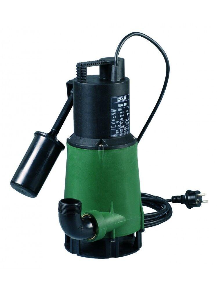 DAB FEKA 600 M-A SV Pompa sommergibile con galleggiante drenaggio acque reflue