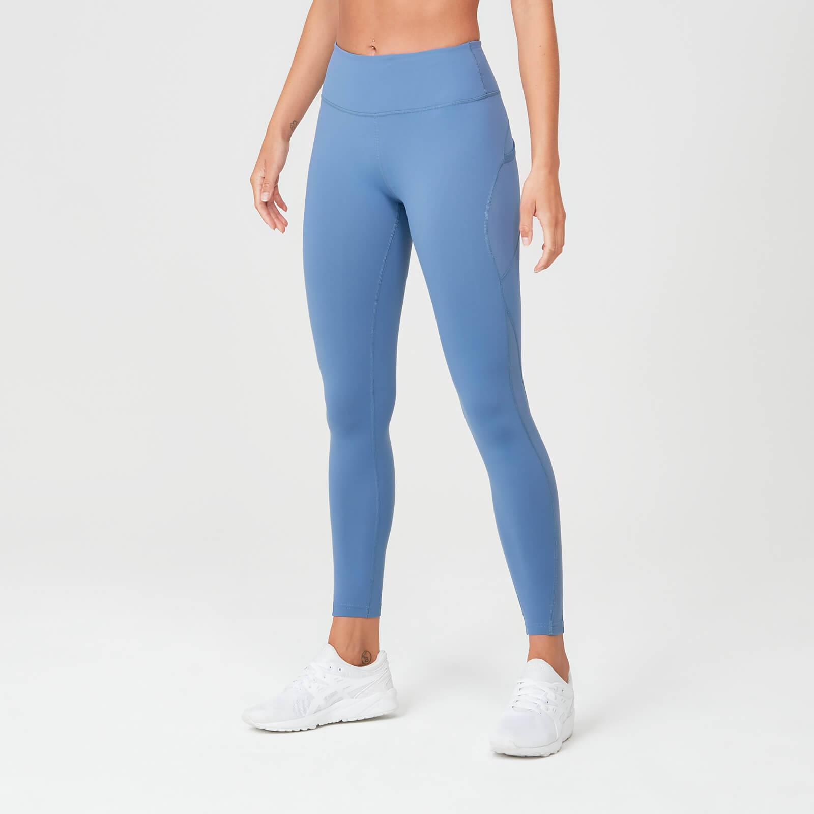 Myprotein Leggings Power Mesh - Blu lampo - S - Thunder Blue