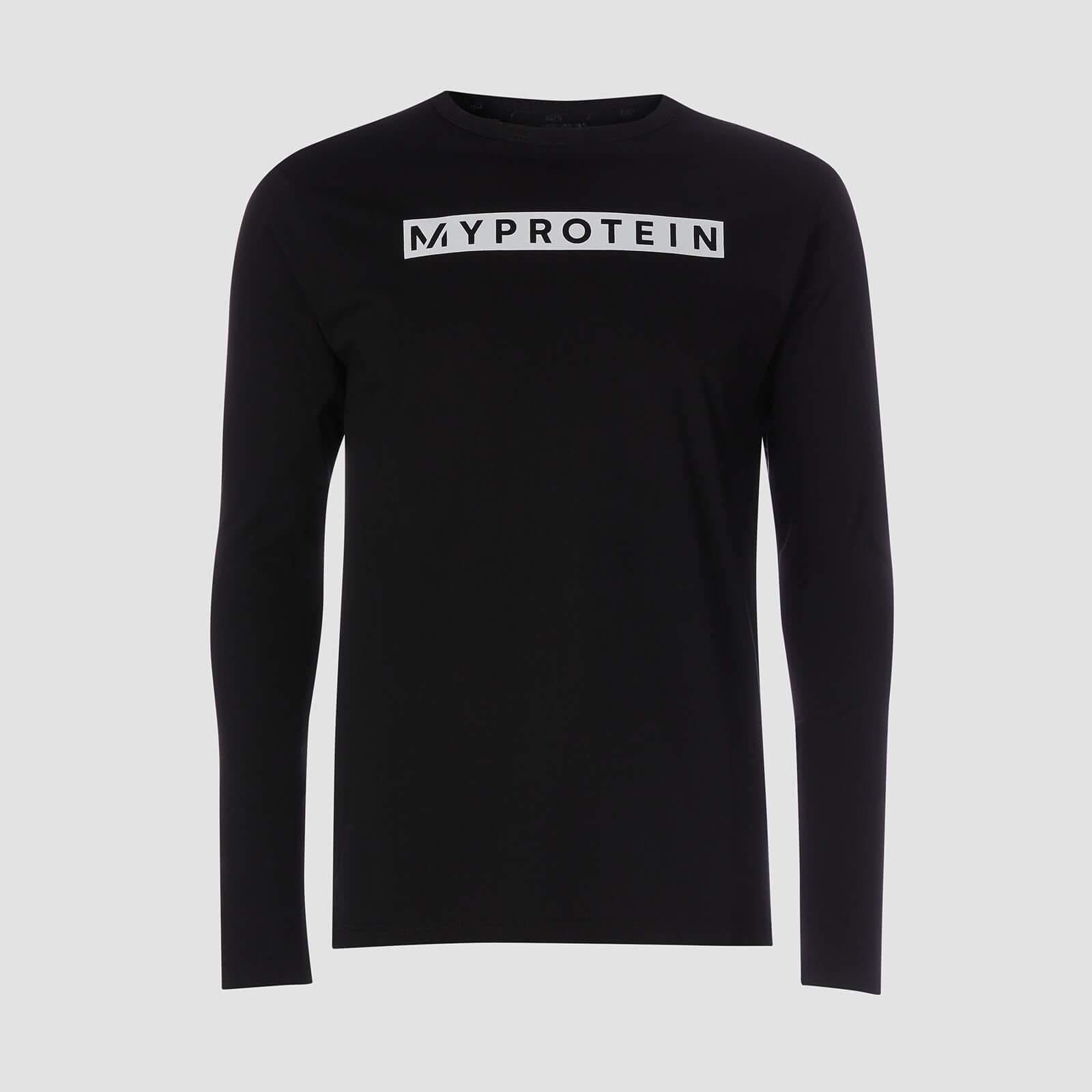 Myprotein T-shirt Original Long Sleeve - Nero - XXXL