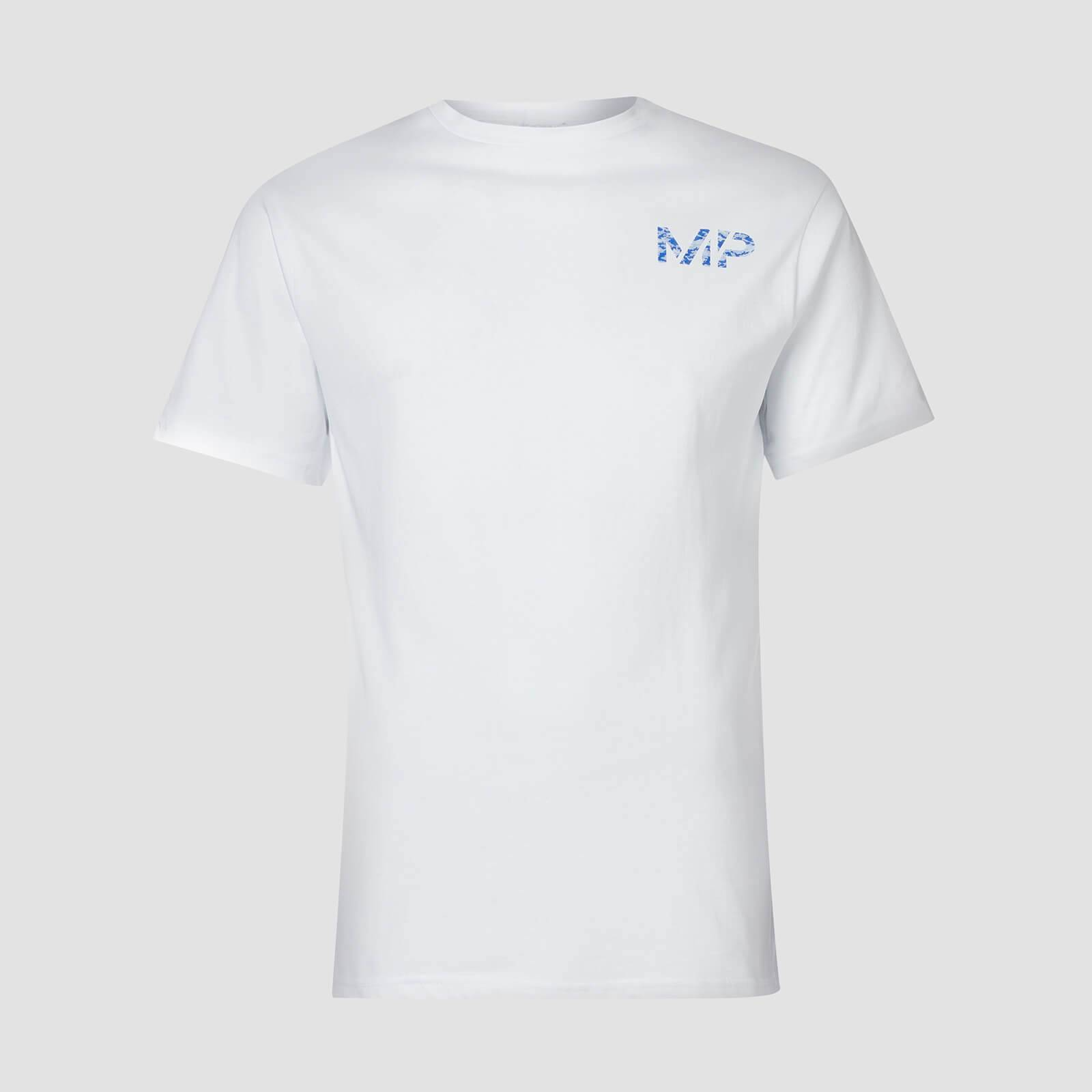 Myprotein T-shirt Geo Camo MP - Bianco - XL