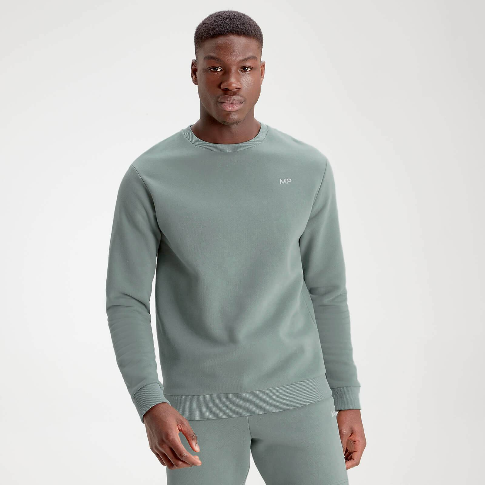 Mp Men's Essentials Sweater - Washed Green - XXS