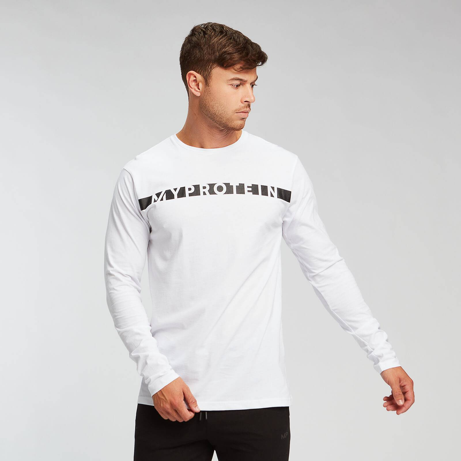 Mp T-shirt Original Long Sleeve - Bianco - XXL