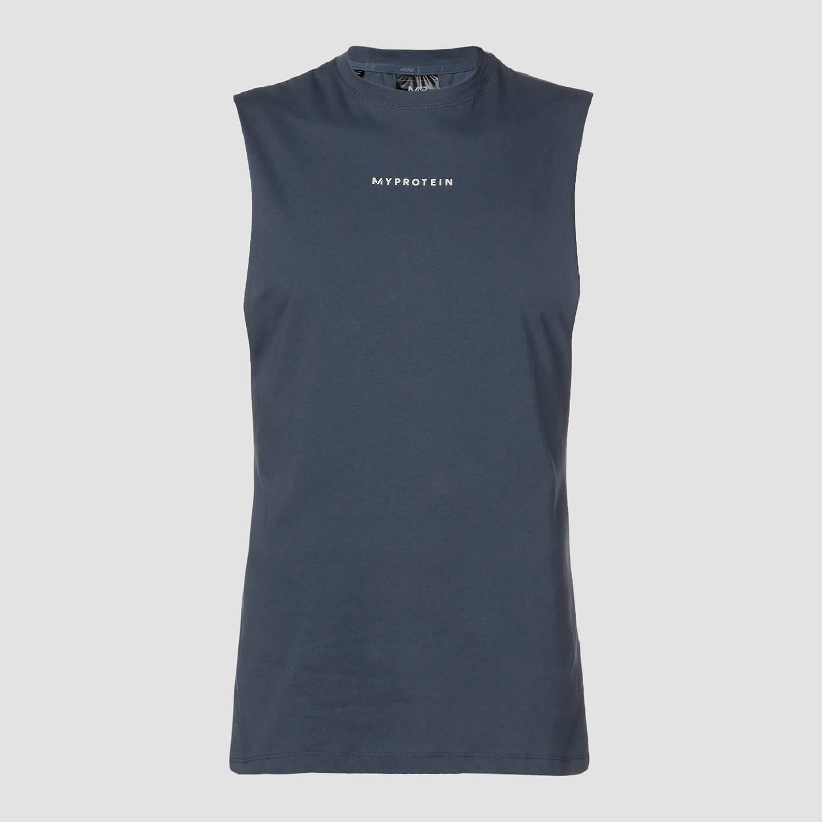 Myprotein Canotta Original Contemporary Drop Armhole - Inchiostro - S