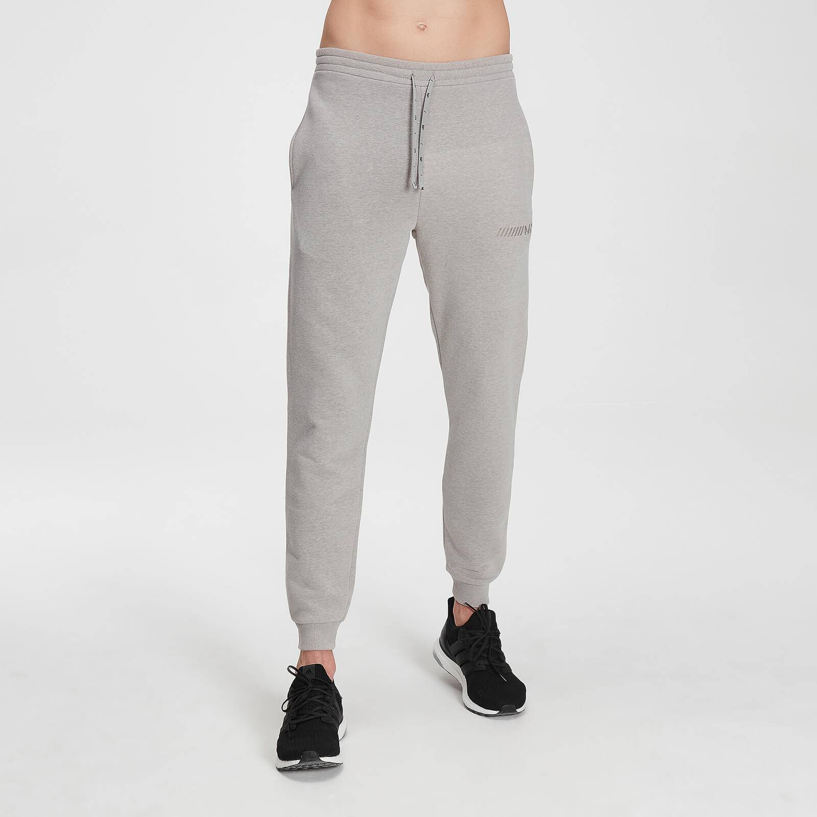 Mp Men's Tonal Graphic Joggers – Storm Grey Marl - L