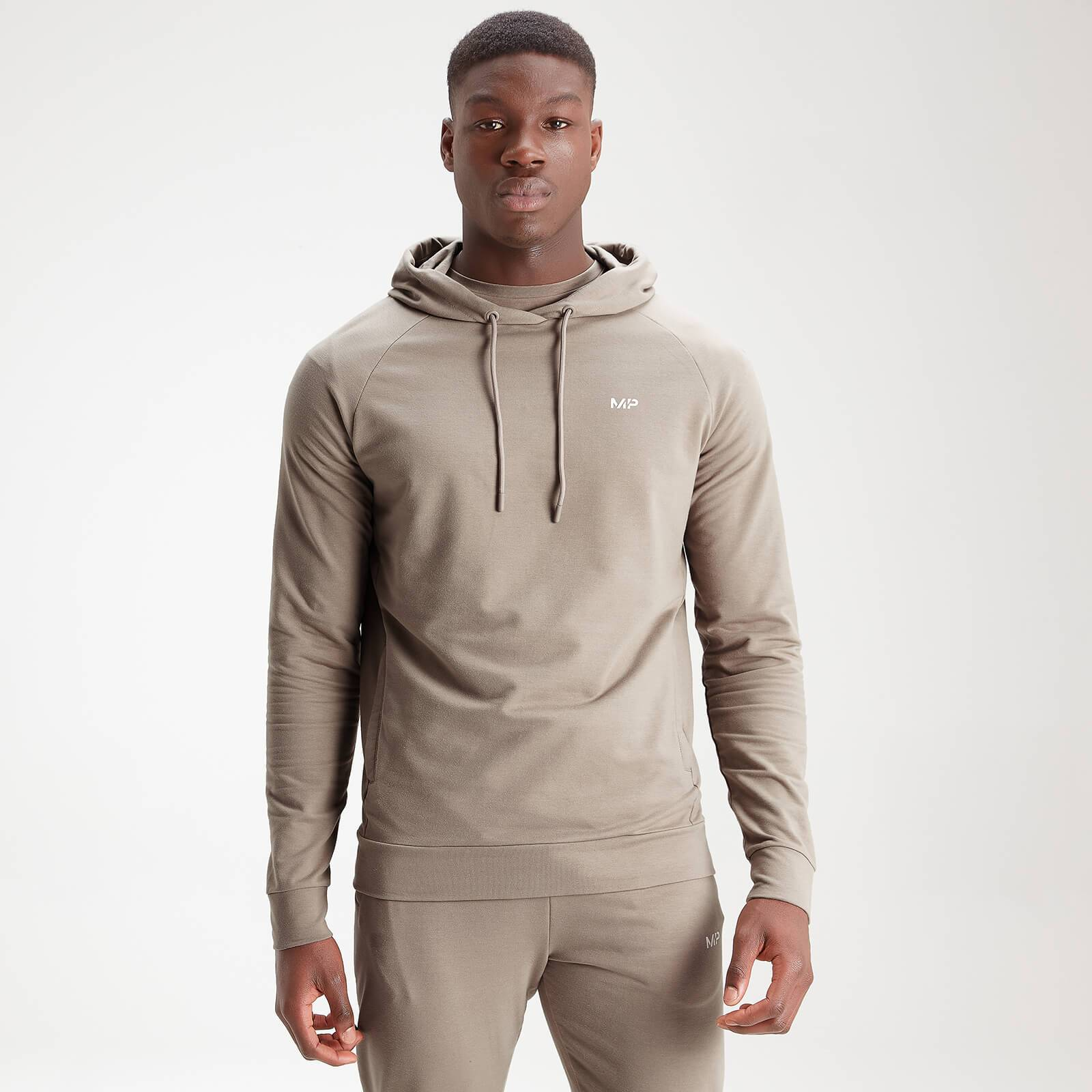 Mp Men's Form Pullover Hoodie - Taupe - XXXL