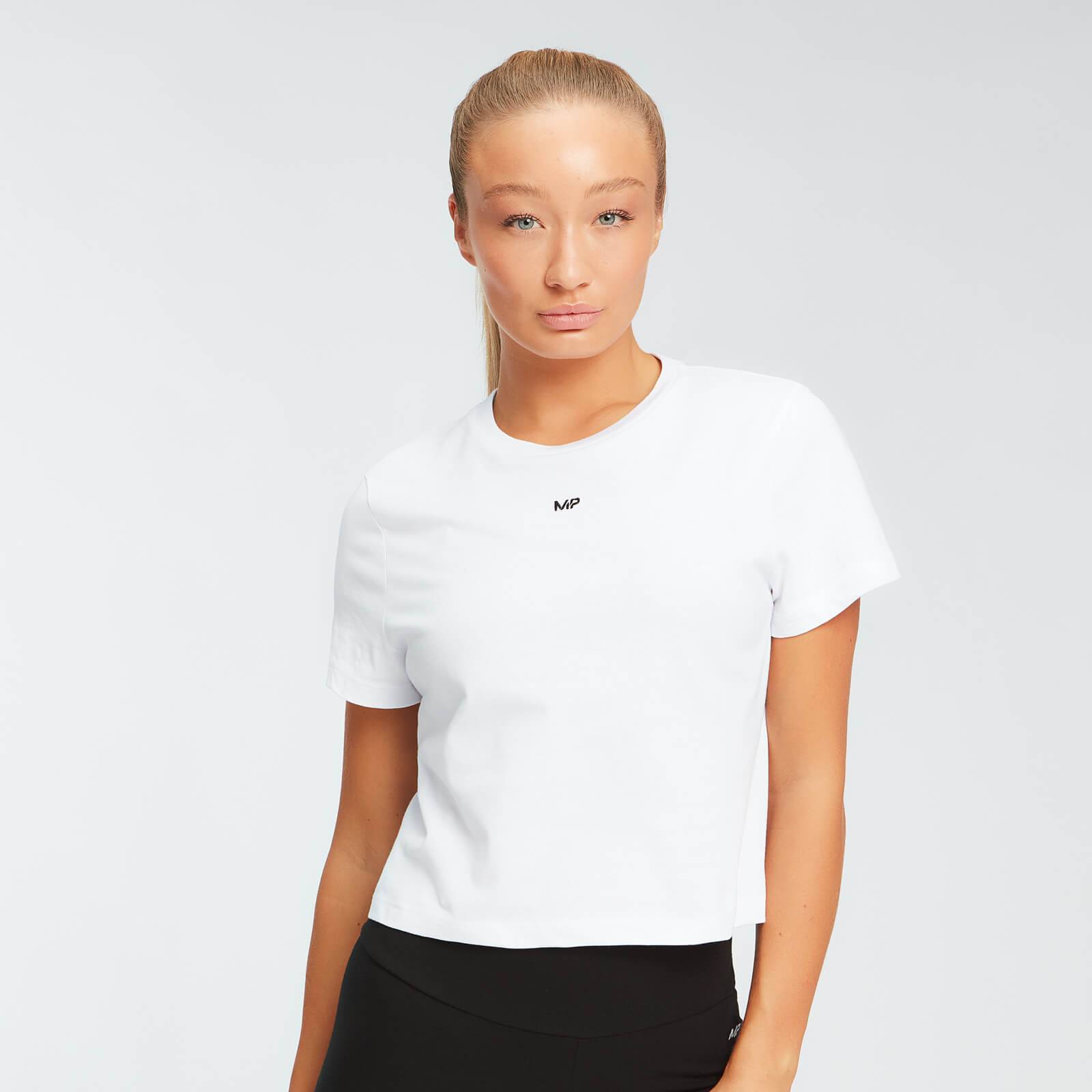 Mp T-shirt corta  Essentials da donna - Bianca - XL