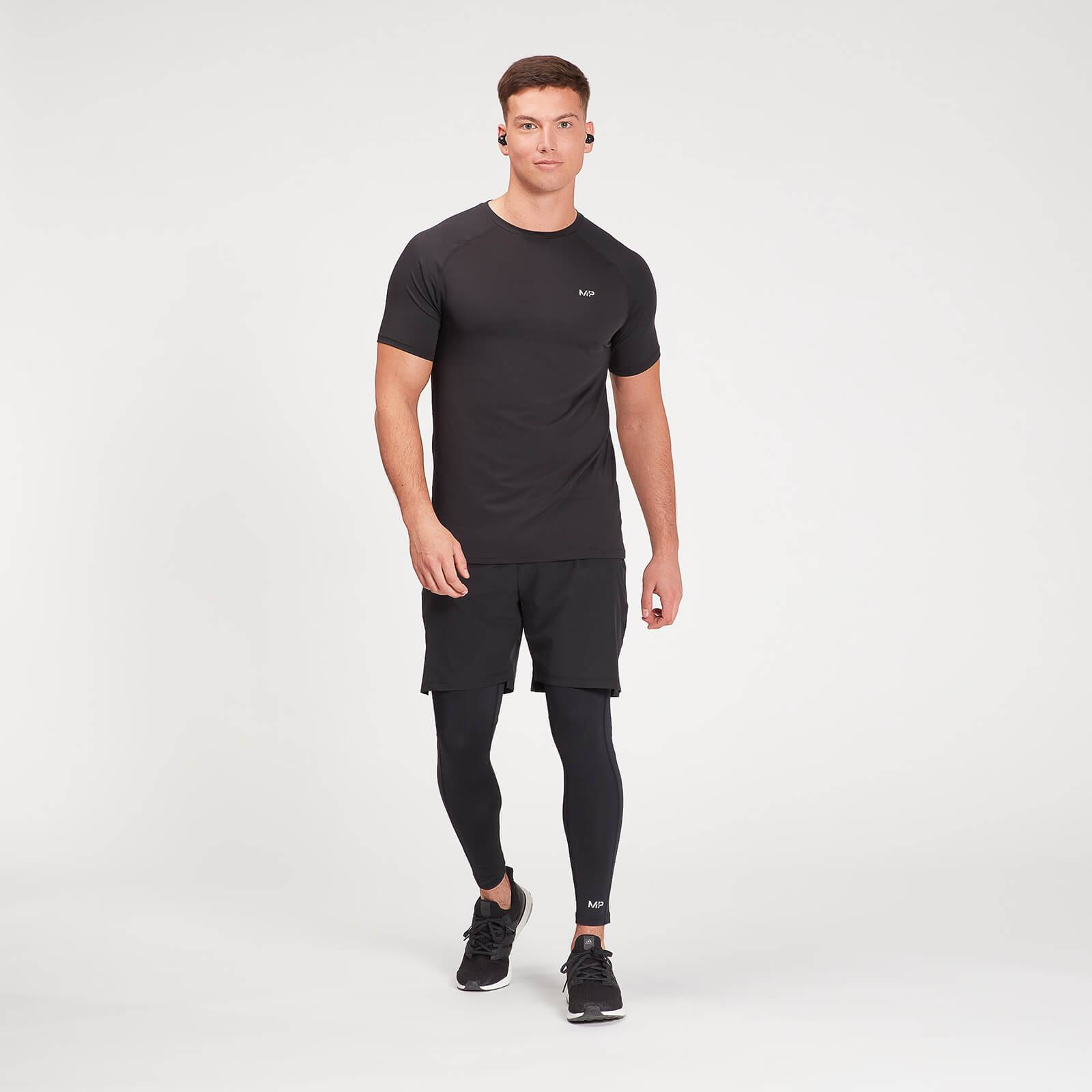 Mp Leggings sportivi attillati  Essentials Base da uomo - Neri - XXL