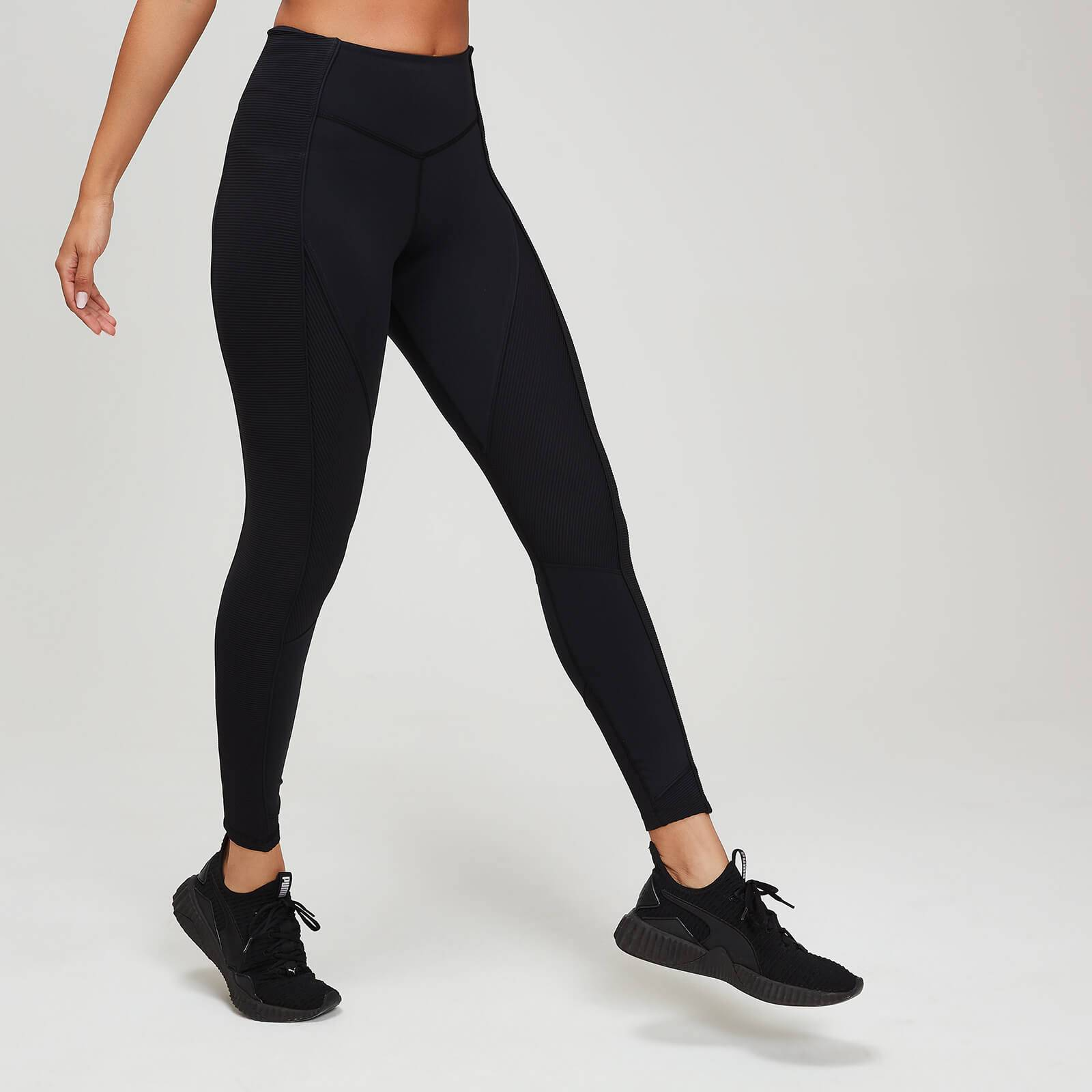 Myprotein Leggings MP testurizzati da donna - Nero - XL