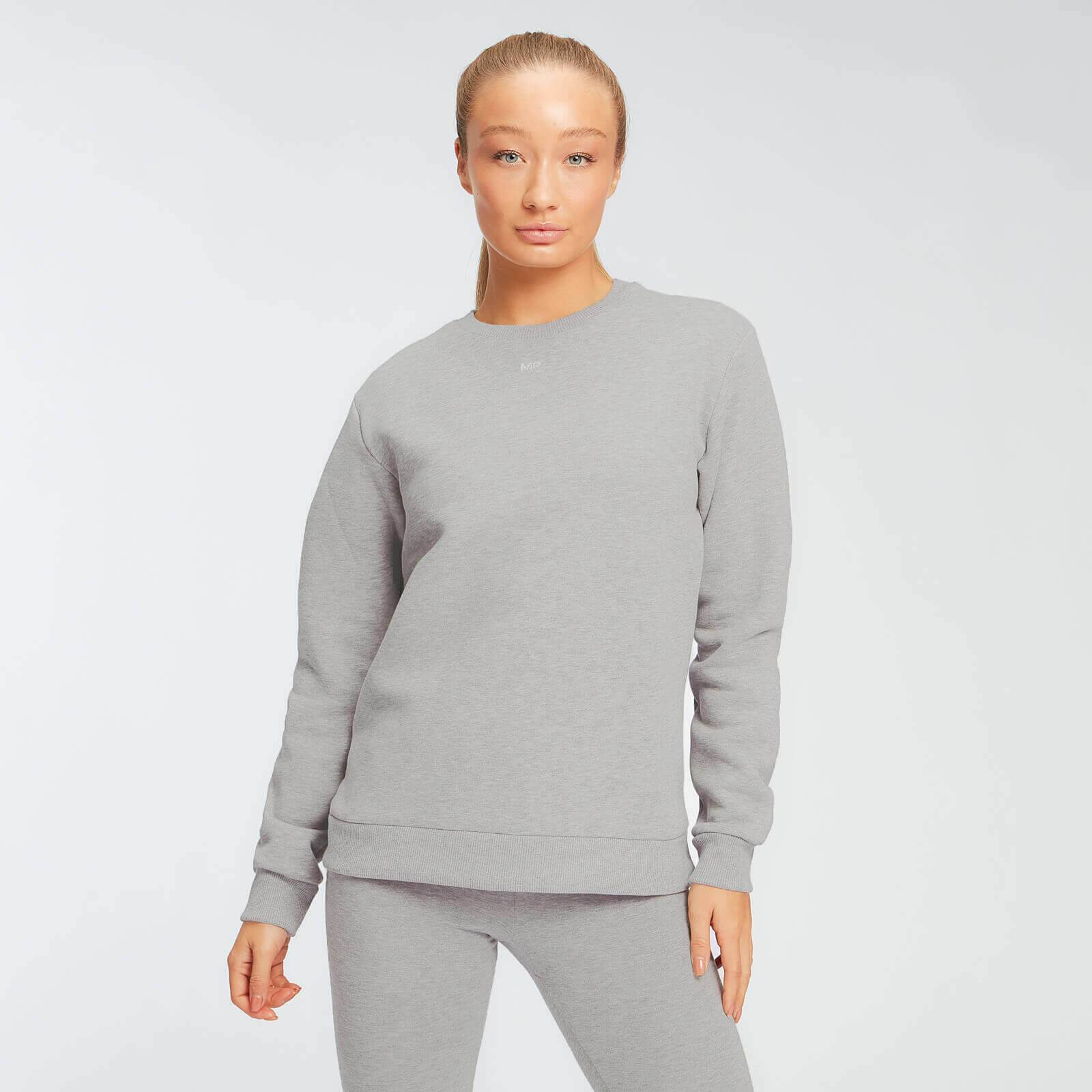 Myprotein Felpa MP Essentials da donna - Grigio mélange - XL