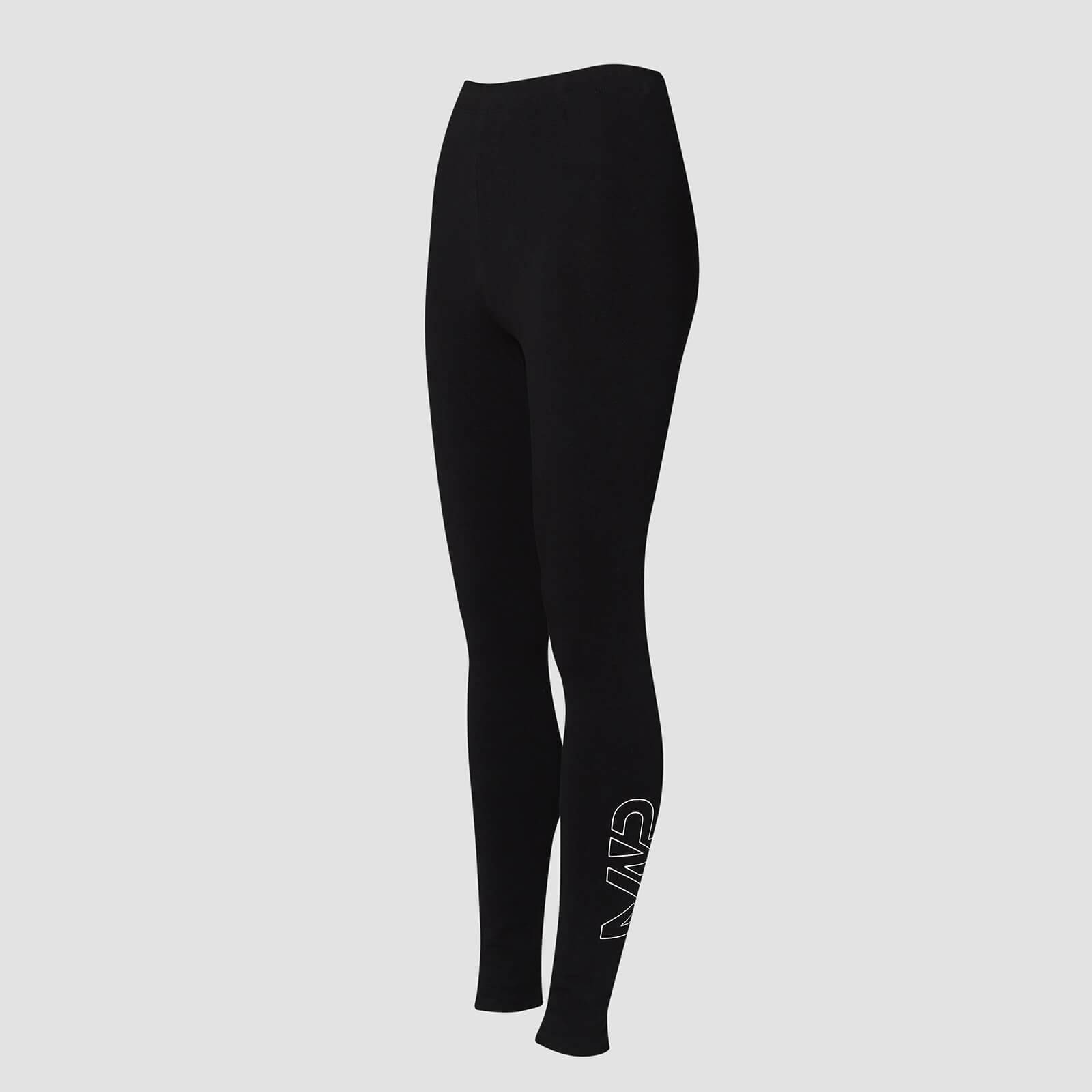 Mp Leggings Jersey - Nero - XS