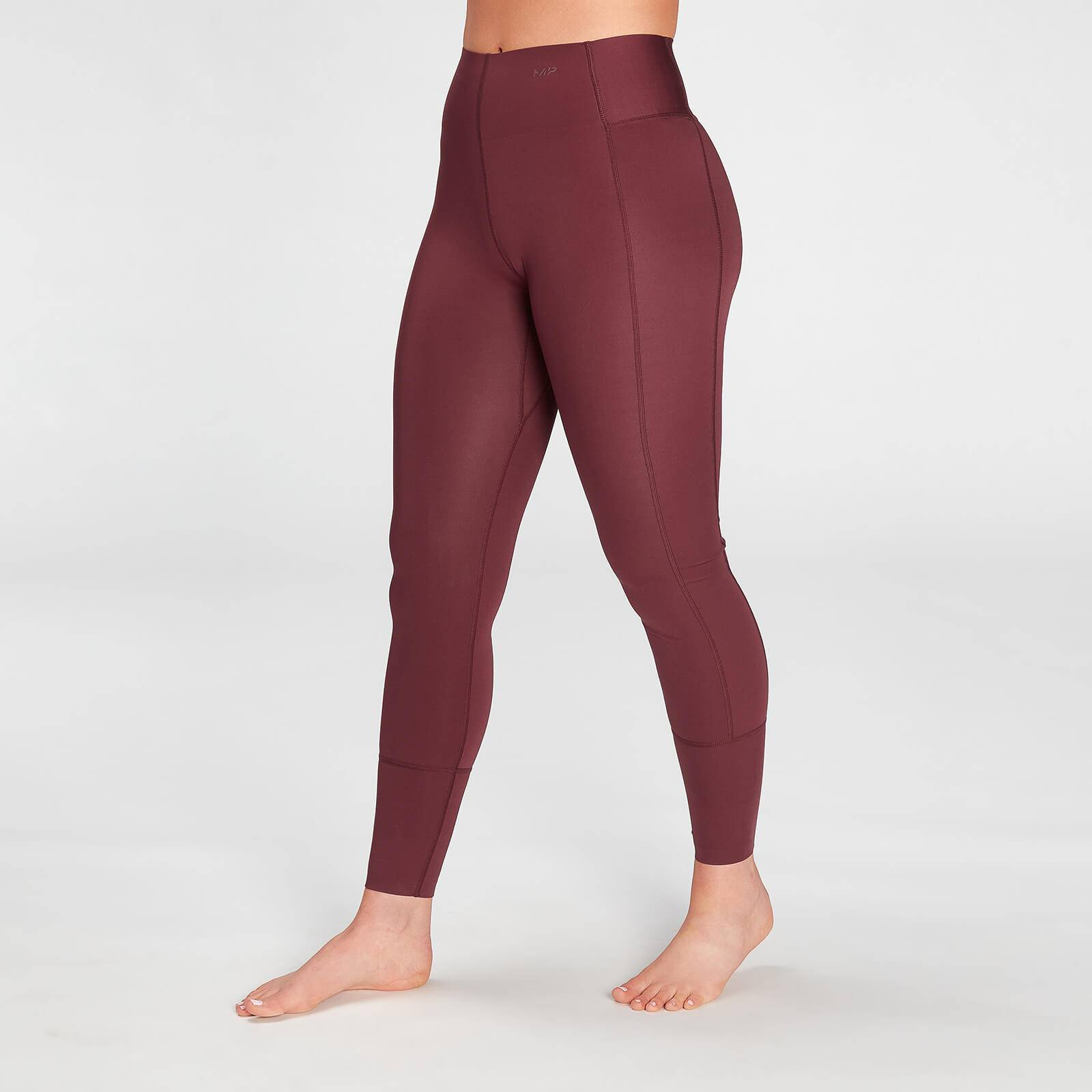 Mp Women's Coosure Repreve® Leggings - Washed Oxblood - XS