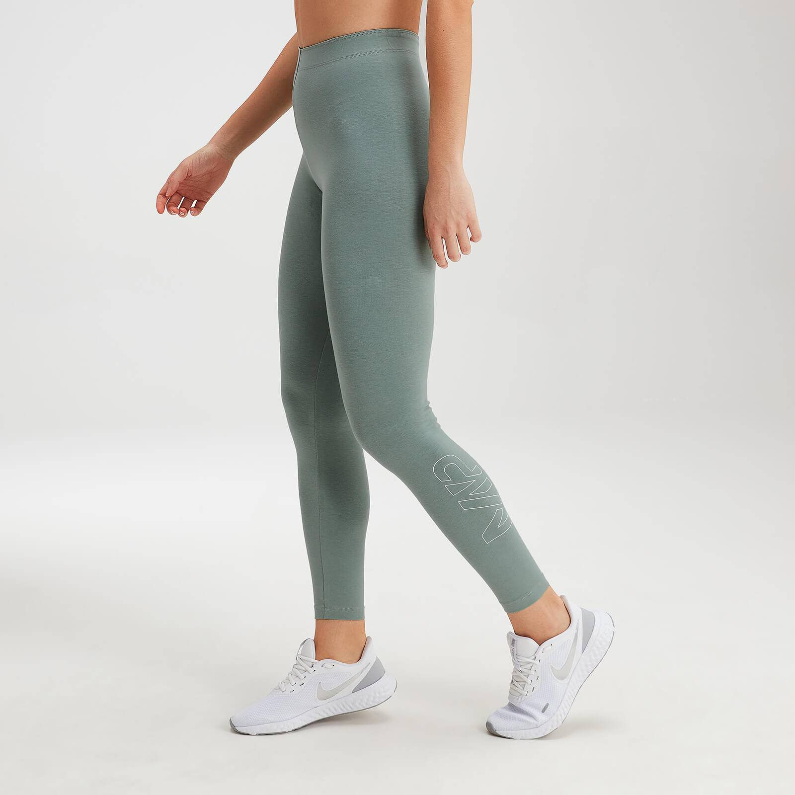 Mp Women's Originals Leggings - Washed Green - M