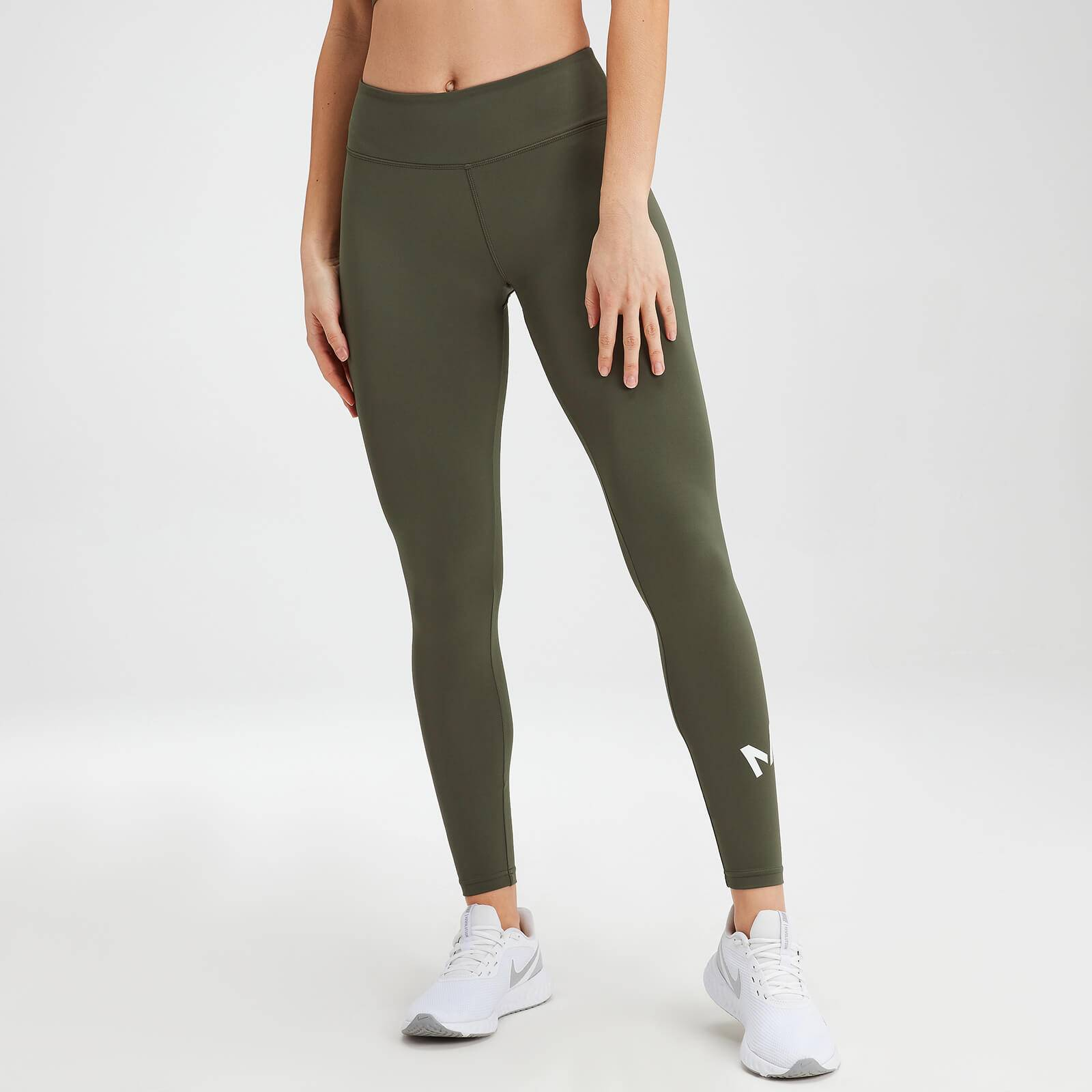 Mp Women's Essentials Training Leggings - Dark Olive - XXL