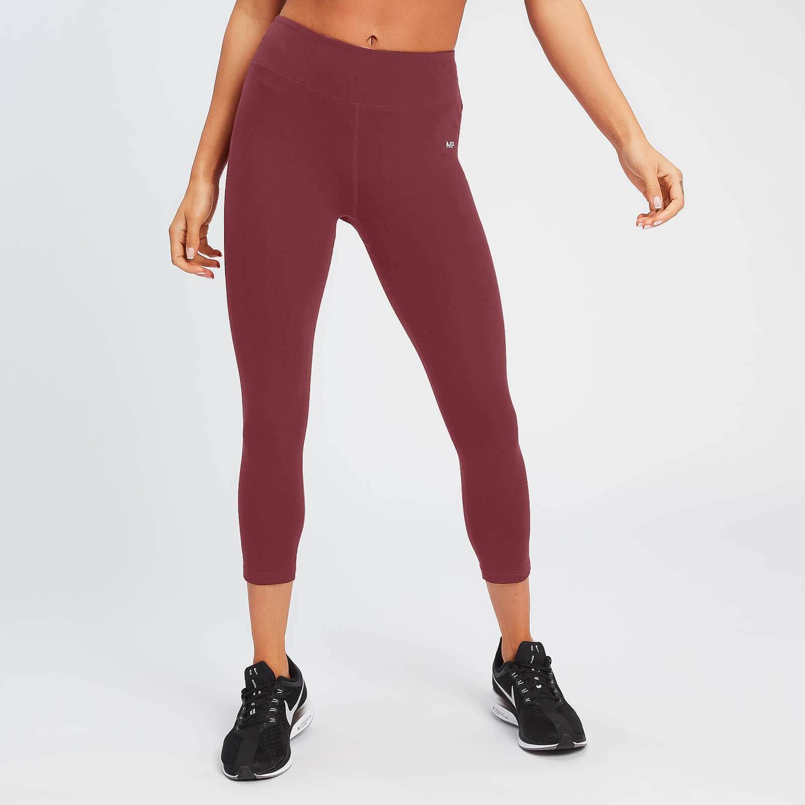 Mp Leggings 3/4  Power da donna - Claret - XXS