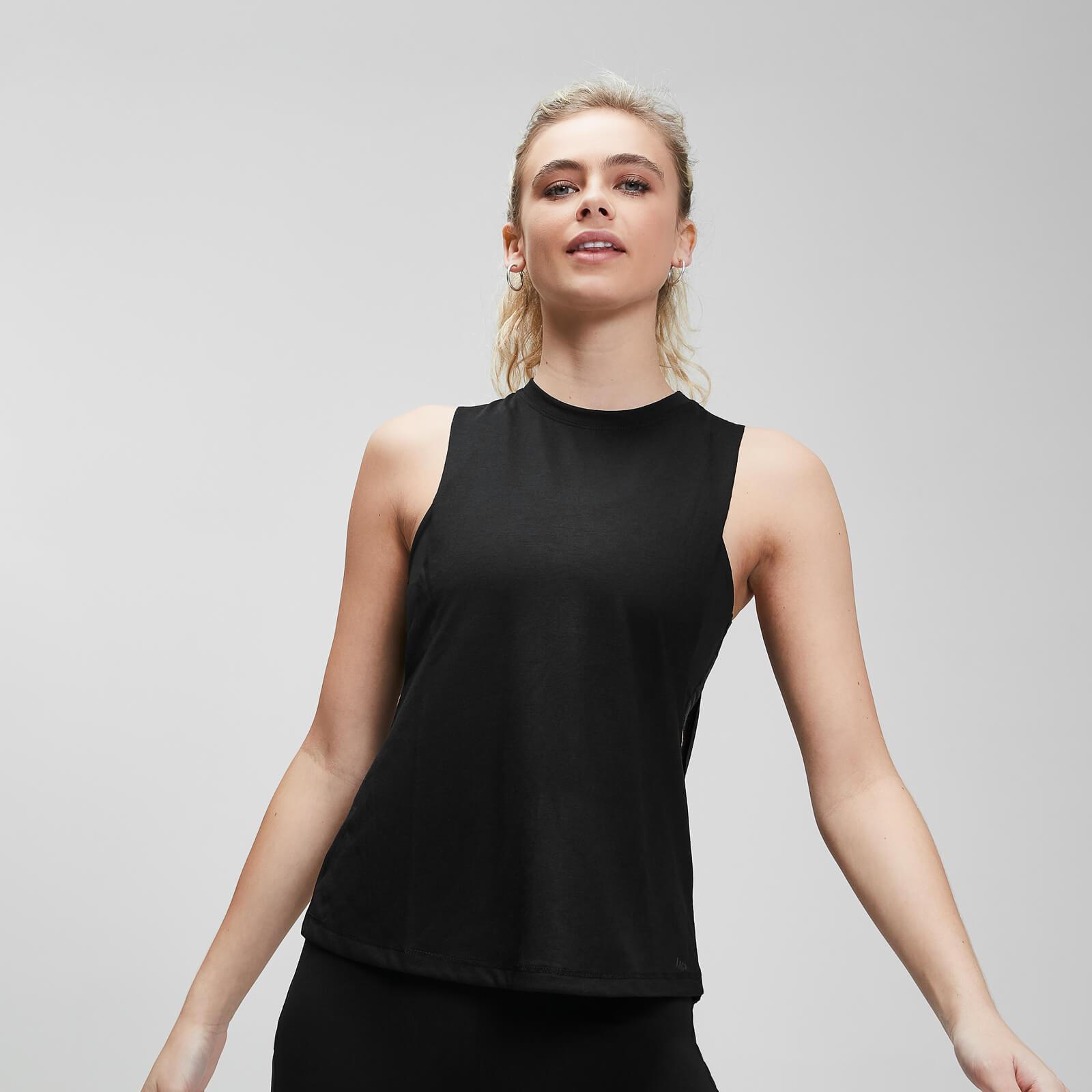 Mp Canotta sportiva con giromanica aio  Essentials da donna - Nera - XXL