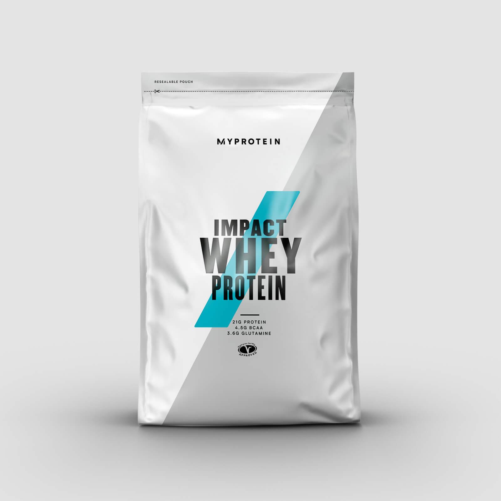 myprotein impact whey protein - 2.5kg - sciroppo di acero